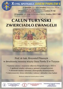Całun Turyński - zwierciadło Ewangelii @ Parafia pw. Najświętszego Serca Pana Jezusa | England | Wielka Brytania